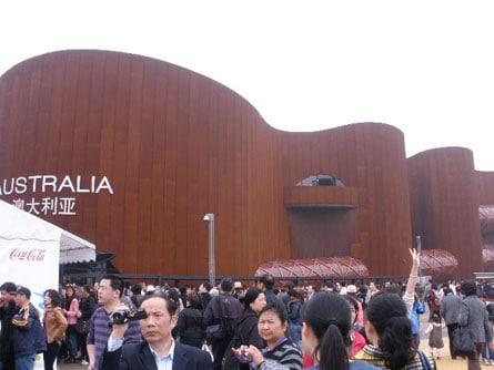 Pavellon de Australia en la Expo de Shanghai 2010