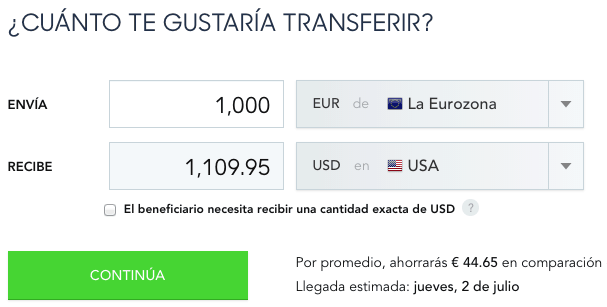 cambio-transferwire
